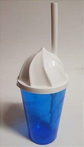 Copo Chantilly 400 ml  Azul Transp