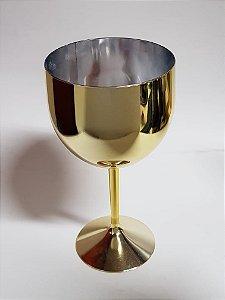 Taça Shelby Metalizado Dourada 550ml