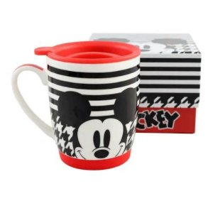 Caneca Mickey Mouse Tampa Silicone 350ml