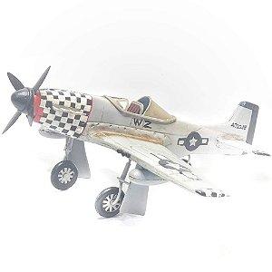 Avião Decorativo Metal