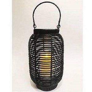 Lanterna Preta Ratan G 10050