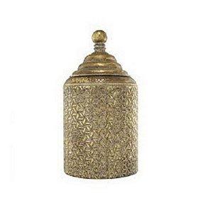 Potiche Dourado Metal P 6312
