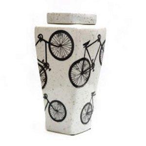 Vasilha Cerâmica Bicicleta