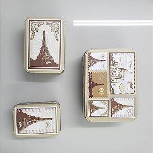 Jogo 3 Caixas Retangulares Paris