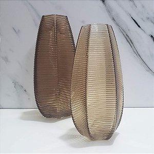 Vaso Decorativo Marrom P