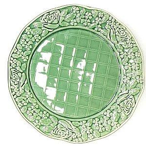Conjunto 6 Pratos Rasos Rosier Verde