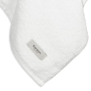 Toalha de Rosto Cotton Branca Karsten