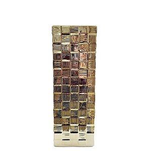Vaso Decorativo Dourado  P Mabruk