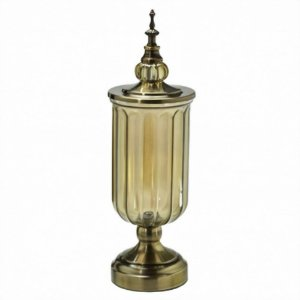 Potiche Decorativo Ouro Velho G Mabruk