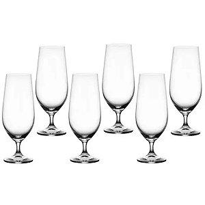 Jogo 6 Taças Cristal Para Cerveja Anna Bohemia