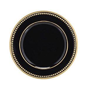 Sousplat Black Gold Premier