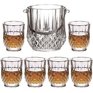 Jogo 7 Peças Whisky Margot