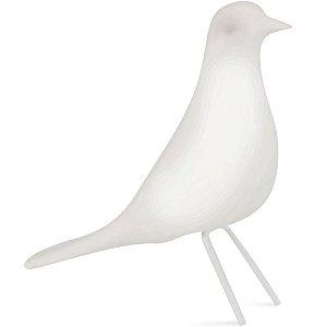 Pássaro Branco Cerâmica