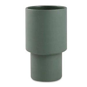 Cachepot Cimento Verde G