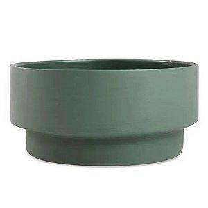 Cachepot Cimento Verde P