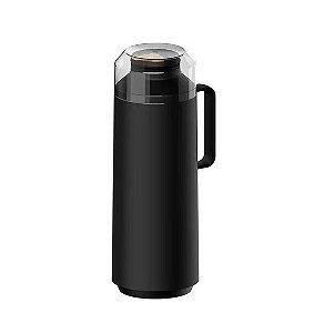 Garrafa Bule De Café Térmica Tramontina Exata 1 Litro Preta