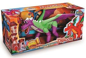 Dinossauro Dragão Um Novo Amigo 49cm - Adijomar