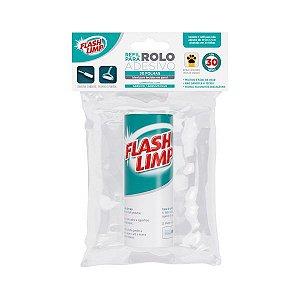 Refil para Rolo Adesivo c/ 30 folhas - Flashlimp