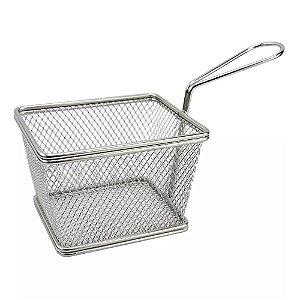 Mini Cesto Para Fritura Servir Porções Quentes Batata Frita