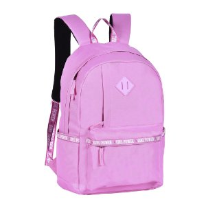 Mochila de Costas Girl Power Rosa - Clio