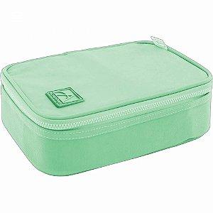 Estojo Escolar Box Académie Verde Pastel - Tilibra