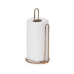 Suporte para Papel toalha Rosé Gold - Arthi