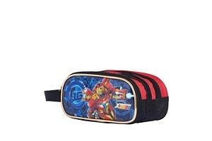 Estojo Escolar X Zone Super Herói de Ferro T16 - Fuseco