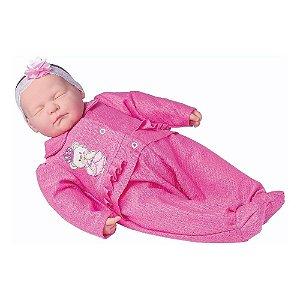 Boneca Coleção Ninos Reborn Dormindo 2212 - Cotiplás