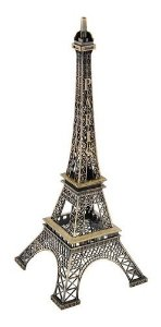 Miniatura Torre Eiffel Metal Paris 25 Cm