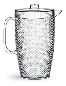 Jarra Suco Água Diamante Crystal 3 Litros Niquelart