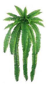 Samambaia Verde Artificial  De Parede 1,20m Decoração