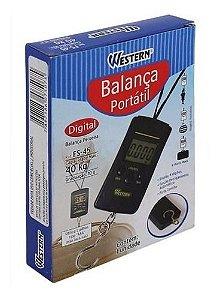 Balança Portátil Digital Western 40 Kg  Fs-45
