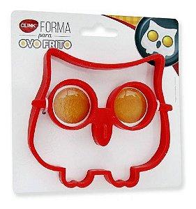 Forma Ovo Frito Coruja Silicone Clink