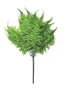 Buquê Mini Samambaia 40 Cm Decoração Planta Artificial