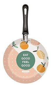 Frigideira Tramontina Plotter Alumínio Estampa Eat Good