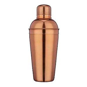 Coqueteleira 500 Ml Aço Inox Rose Gold Cobre Hauskraft Luxo