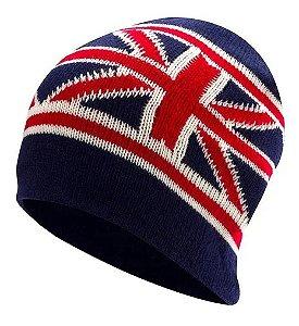 Touca De Lã Adulto Azul London Unissex Inverno Frio Moda