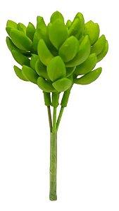 Planta Suculenta Banana Verde Artificial Decoração Casa