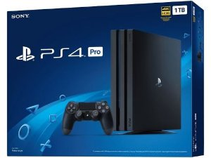 Sony PlayStation 4 PRO de 1TB Sony CUH-7115B Bivolt - Jet Black