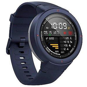 Relógio Cardíaco Xiaomi Amazfit Verge A1811 com GPS/GLONASS - Azul/Cinza