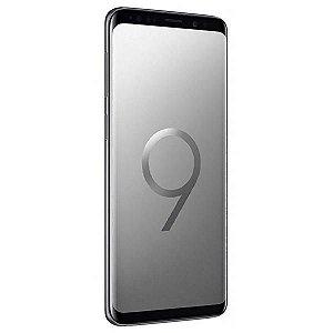 "Smartphone Samsung Galaxy S9 SM-G960F/DS Dual SIM 64GB de 5.8"" 12MP/8MP OS 8.0 - Cinza"