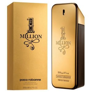Perfume Paco Rabanne 1 Million Eau de Toilette Masculino 200 ml