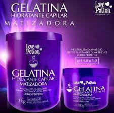 GELATINA MATIZADORA - LOVE POTION - 1 Kg ou 300 g