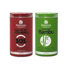 SOS Banho de Vitaminas Ou Banho de Bambu - NATUREZA COSMÉTICOS