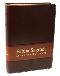 Bíblia - Letra Super Gigante - RA - com índice