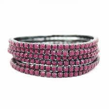 Pulseira Strass Rosa Pink