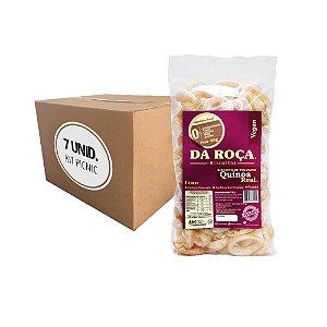 VEGAN - KIT picnic Quinoa Real - Embalagem de 7 unidades.