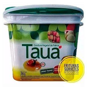 Gordura De Palma Tauá - Balde 3 Kg - Pronta Entrega