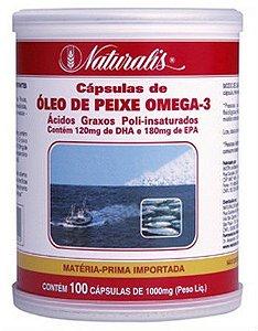 Óleo de peixe Ômega 3 - 100 CAPS