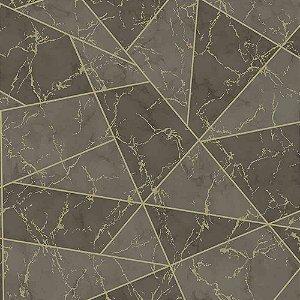 Papel de Parede Geométricos Efeito Mármore Elegance 3 EL202704R